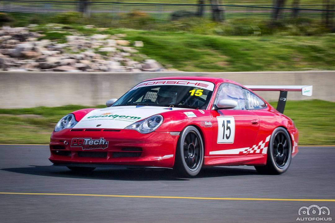 Garry catching some air at SMP #porsche #911 #GT3 #Smp #pcnsw #supersprint