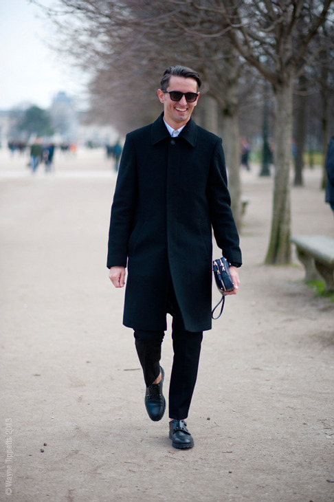 No way I could get tired of Simone Marchetti's simple way of dressing.