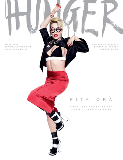 Rita Orafor 'The Hunger Magazne' [S/S 2013]