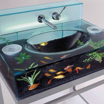 #faucet #dopegasm #stylegasm #fashgasm #bathroomsink #fishbowl  (at www.overachieversclothing.com/blog)