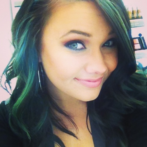 Turquoise Pretty Makeup