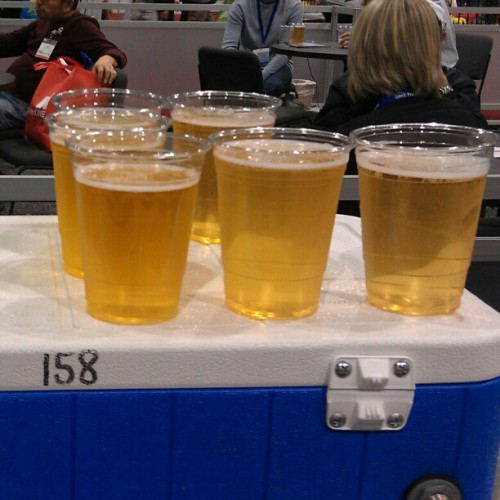 Free beer now at IBS Live! #IBSVegas