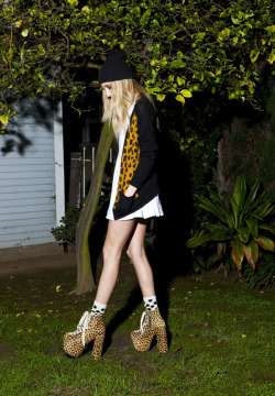 7 of our favorite bloggers take on Unif's wildest boot yet!