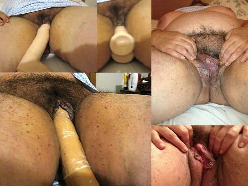 Wife masturbating with her 9 inch dildo and showing off her clit!______________________________________________________Submitted picture!! Thanks gene (genelee1@&#8230com)!!! She takes it all so deep! She&#8217s a bad girl. I LOVE that! I want to play too. MORE!
