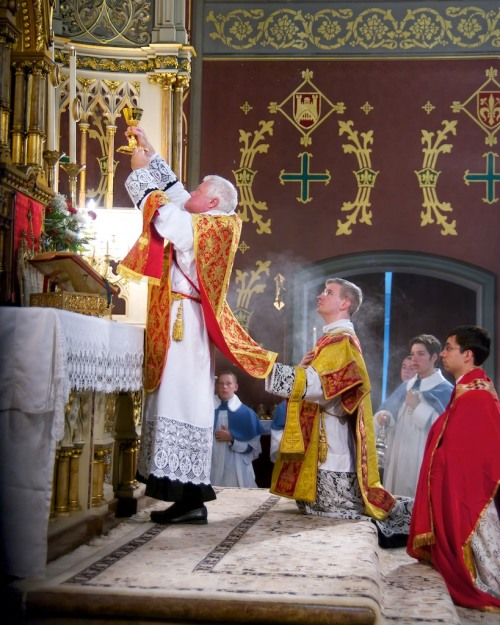 "By their ordination, whatever ministry the priest performs, he acts in the person of Christ. In part one; I wrote about a friend who had converted to the faith and how he could not receive Holy Communion from EMHCs, as he believed, intuitively, that they took something away from the experience of receiving Christ. This is exactly what the habitual use of EMHCs does. If the priest represents Christ, then pray tell what do EMHCs represent? And what does seeing them at every Mass do other than take away from the very notion that the priest acts in the person of Christ. Imagine for a moment, the priest in the person of Christ and Joe Bloggs in his sports top, or Ms McGinty in her business suit and visible cleavage, handing out the Blessed Sacrament as if it were sweeties. I am not suggesting that all EMHCs are as vulgar as those described, but even if they are the holiest of holy people that you are ever likely to meet, it still doesn't come close to the person of Christ. That's the point. Pope St. Pius X wrote: ""He who on the altar almost ceases to be mortal and takes on a divine form, remains always the same, even when he comes down from the holy hill and leaves the temple of the Lord. Wherever he is, wherever he goes, he never ceases to be a priest, and the serious reasons that compel him always to be grave and appropriate accompany him with his dignity everywhere."" http://filiiecclesia.com/2013/04/18/vatican-ban-on-extraordinary-ministers-of-holy-communion-part-six/"