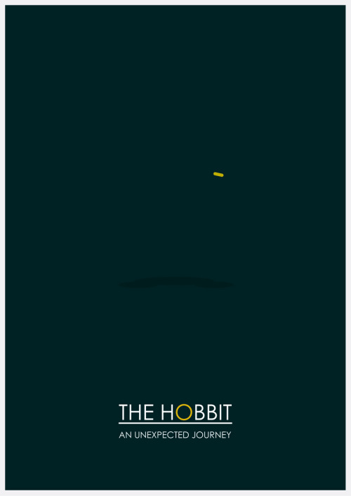 A new Hobbit minimal poster to celebrate it's release :)