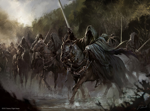 togliere:  Black Riders by ~daRoz