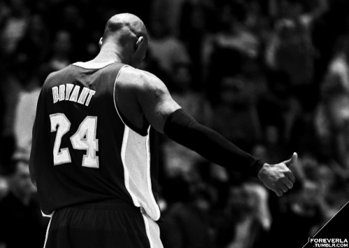 foreverla:  Kobe Bryant, one rebound away from a triple double, scored 14 points, grabbed 9 rebounds, and had 14 (!!!) assists in a 102-84 Lakers win.