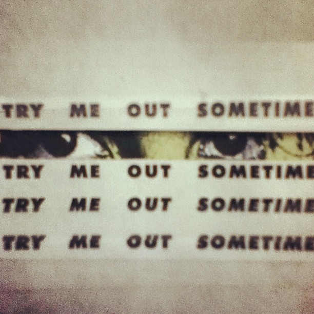 @bronchoband Try Me Out Sometime #process #collage