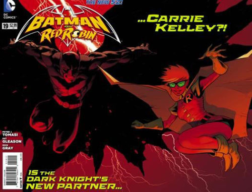 Carrie Kelley returns to Batman! Is she the new Robin?