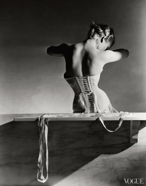 vogue:  From the Archives: Corsets in VoguePhoto: Horst P. Horst, Vogue, September 1939See the slideshow