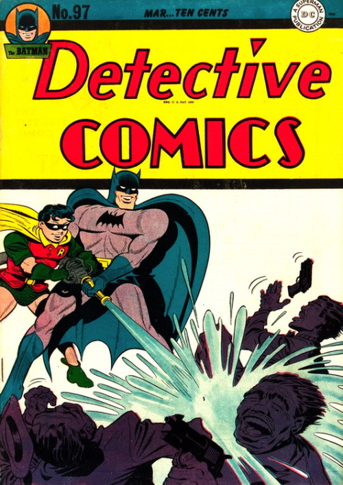 Detective Comics (No.97, March 1945)Cover Art by Dick Sprang