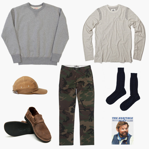 free-man:  Fall Kit Nº12 – Comfortable Weekend