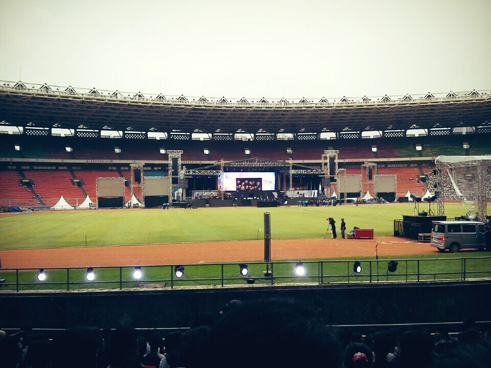 Celebration of Unity… (World Council of Churches) at Stadion Utama Gelora Bung Karno – View on Path.