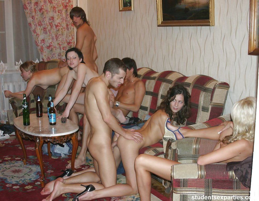 College sex party