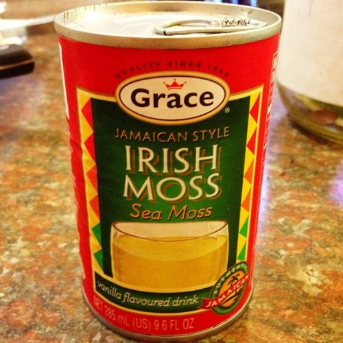 #irish #moss? Idk what it is, but I'm finna try it #jamaican #albany (at The Dutch Pot)
