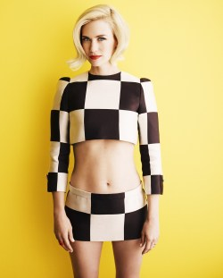 January Jones - Glamour UK by Simon Emmett, April 2013
