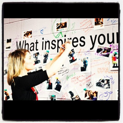 @WmcFashionWeek asks:  What #inspires YOUR #fashion #wmcfw?  My response: Anything and Everything #VINTAGE !!!! @jdogphoto ❤ (at World MasterCard Fashion Week (David Pecaut Sq))