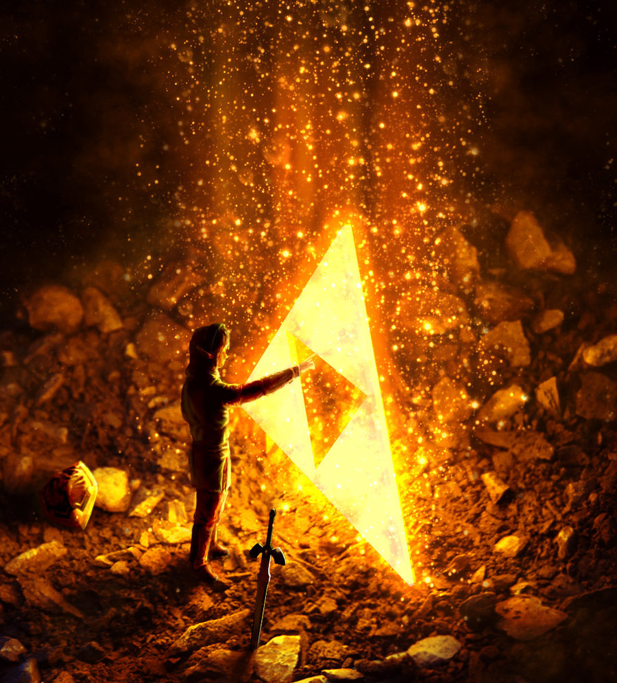 walnutseed:  The Triforce by ~super-fergus