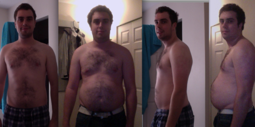 Before 195lbs. After 218lbs. 01/01/13
