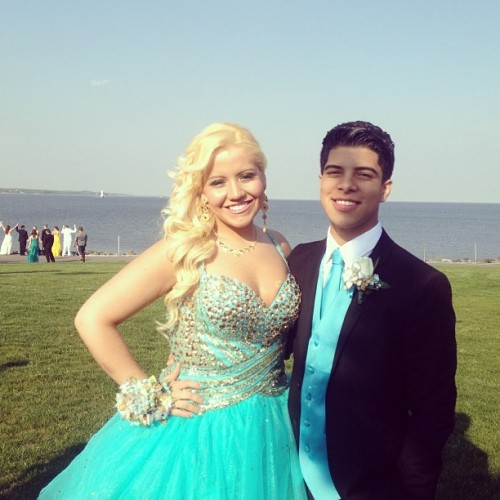 My prom date and I @marcsanchez_ ❤😘😁🎉 #prom #senioryear