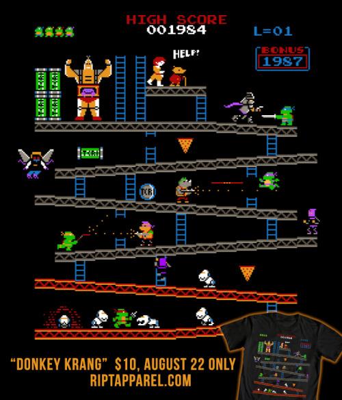 """Donkey Krang,"" $10 Today Only at RIPTApparel.com"