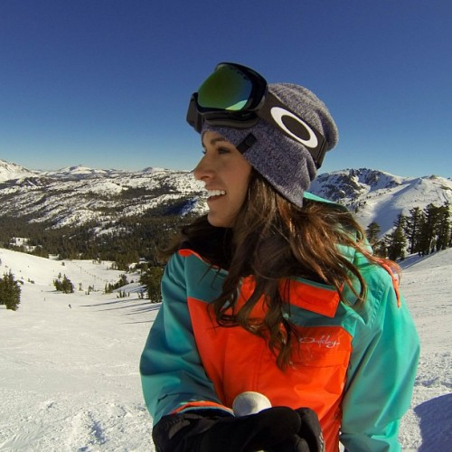 #tbt to fun times at Kirkwood!// #gopro #hero3 #oakley #kirkwood #laketahoe #california #ski #goggles #skier #snow #mountain #girl #smile #omniten