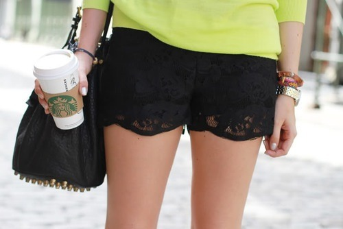 ingridkytam:  Lace shorts ❤