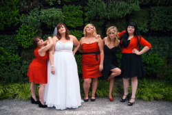 Bridesmaids movie cover reenactment!
