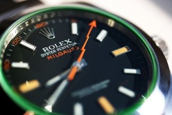 suitboss:  Green Milgauss | If you know where to buy this cloth or any……More men's fashion.