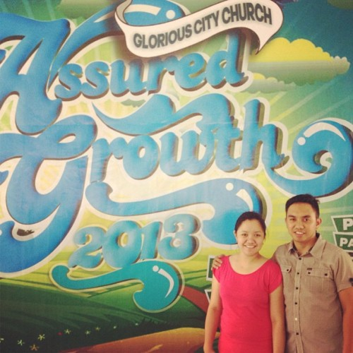 Assured Growth GCC 2nd Vision Year Celebration. This coming May 26, 2013. 4PM #g12 #vision (at GCC)