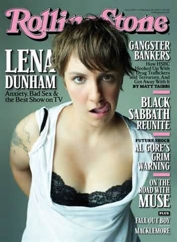 rachelevee:  I can't get enough of Lena Dunham.