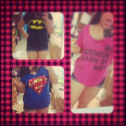 "ßatman and Super Man ✞ and my pink shirt says ""On Wensdays we wear pink"" -Mean girls cx #like #shopping #clothes #batman #superman #on #wensdays #we #wear #pink #meangirls #fashion #rawr #hawt #like #instacutie #instafamous #instagram #instalike"