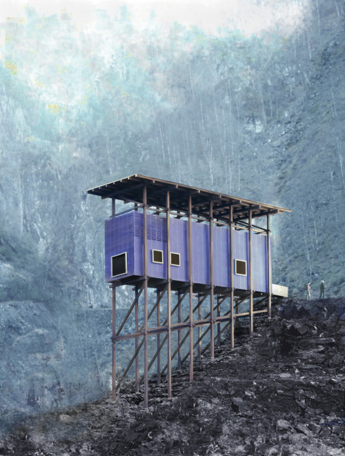 arkitekcher:  Zink-Mine-Museum (2003-in corso/ongoing) | Peter Zumthor Location: Almannajuvet, Sauda