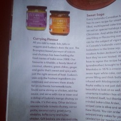 "An article about us in the ""food in the hills"" magazine"