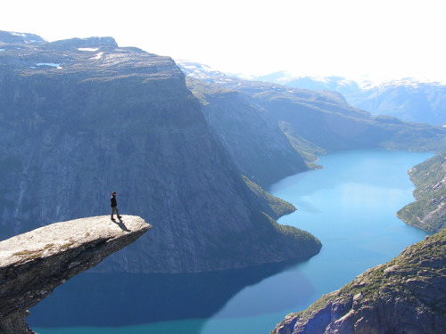 happinessreturntome:  Trolltunga, Norway
