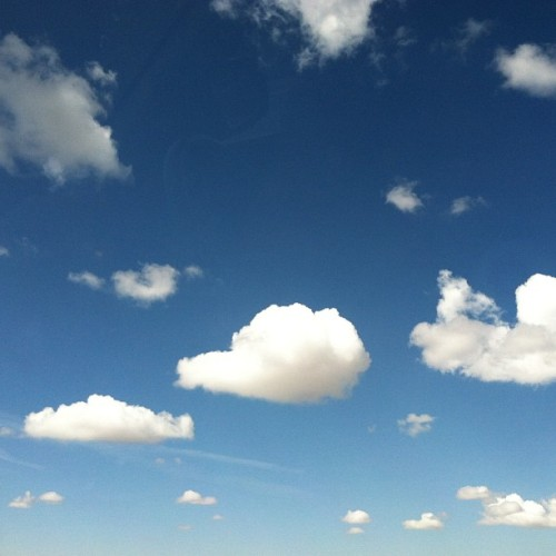 Happy clouds! #wyoming #clouds (at Wyoming)