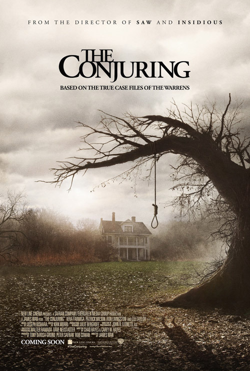 The Conjuring: exclusive poster The Conjuring is the latest spooker from Saw and Insidious director James Wan, and we've got an exclusive look at the new poster for you.