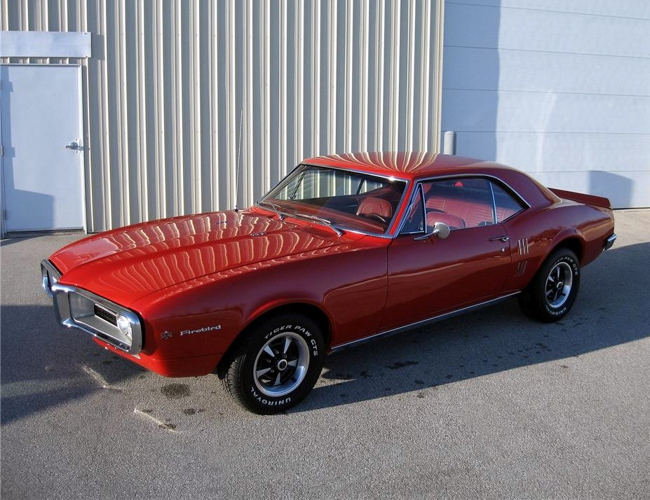 Red/Red… 1967 Firebird coupe