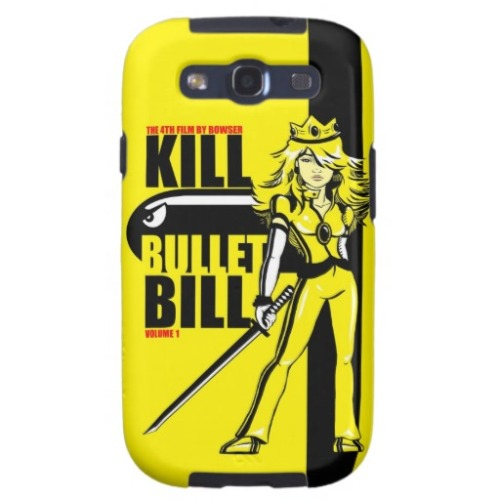 Kill Bullet Bill is now on Samsung Galaxy S3 Cases! After someone brought it to my attention that apple product cases were the only options for my designs I created one to fit their model that's now available to all of you. If anyone has a similar interest in my designs on products that I don't currently offer don't hesitate to let me know. I'll do my best to find a distributor that fits.