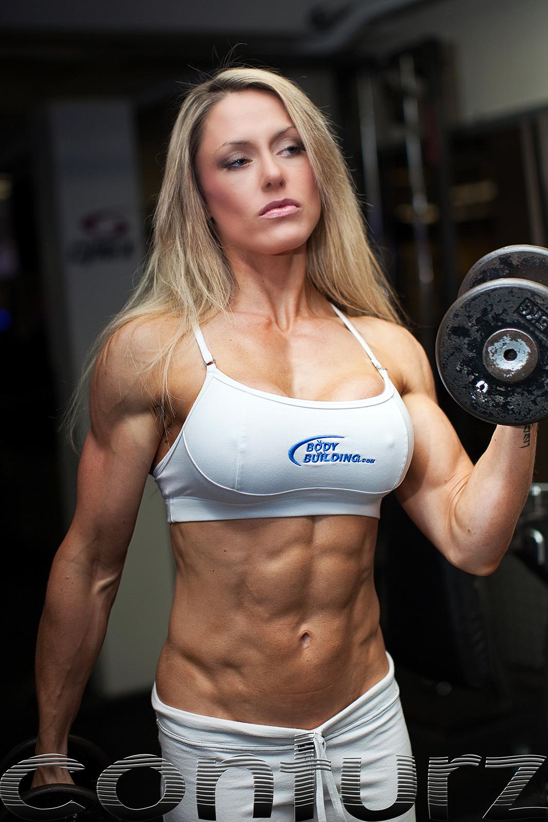 Fitness girl nude — img 12