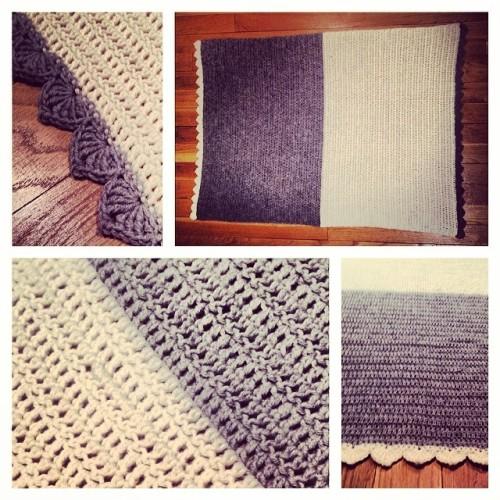 New blankie for #FedericoKneebone Hope it keeps him warm @hillatotheholla @ryan_k_bone 💙💙💙💙 #federicokneebone