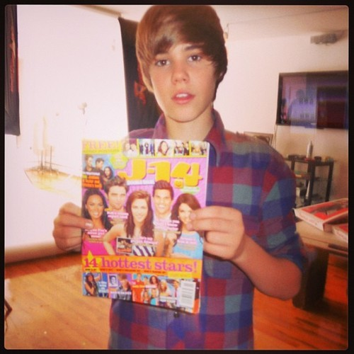 @j14magazine: Our #ThrowbackThursday goes to tomorrow's #BirthdayBoy @JustinBieber at his @J14Magazine shoot back in 2009! #tbt #babybieber