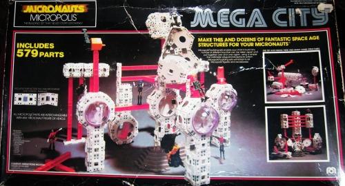 Micronauts Mega City (1978).