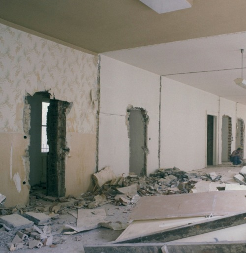 Construction work in a Flat in Vienna, 2004 #vienna#2004#2000s#00s#aesthetic#aesthetics