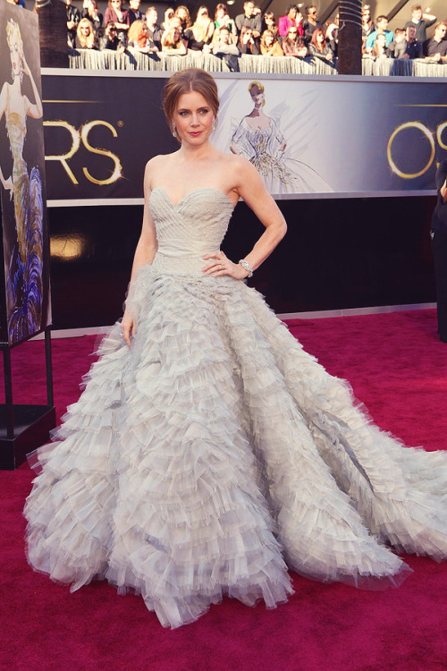 Amy Adams at the 85th Annual Academy Awards