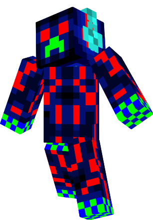 This is a cool Creeper skin for those that like to be creepy and the creeper lovers but any 1 can use this skin :D -joe Cool beans! -TQuin