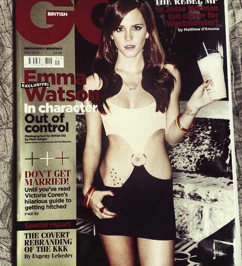 Emma Watson for GQ (May 2013)
