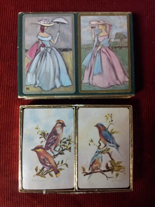 I just love the illustrations on these old cards.