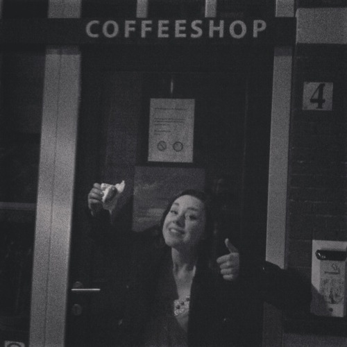 How we celebrate 420 in Holland. We don't; coffee-shop was closed.